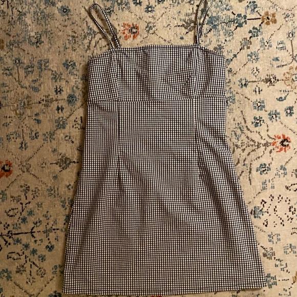 Garage gingham dress